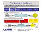 the new era in film finance