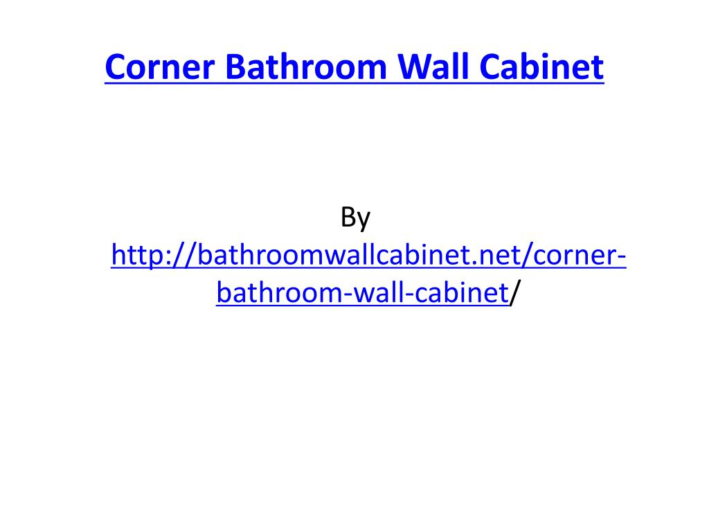 corner bathroom wall cabinet l.