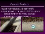granular products41