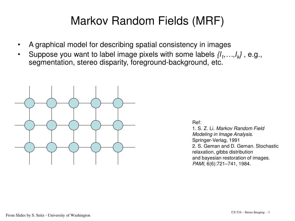 markov random fields mrf l.