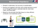 bioelectrical impedance