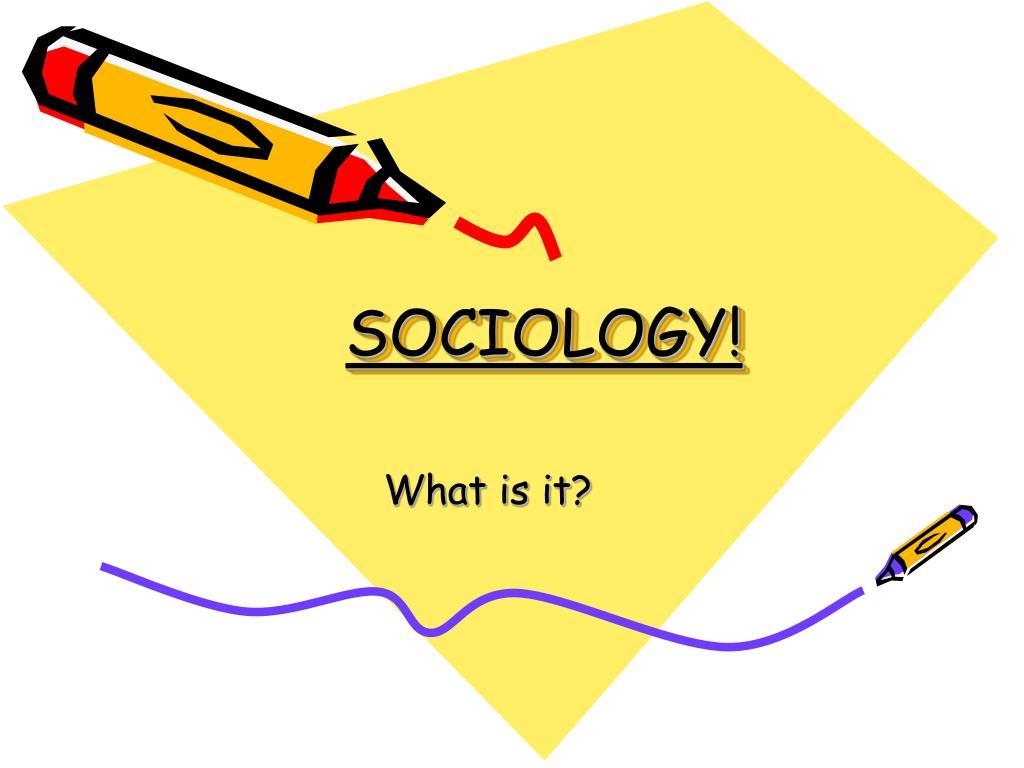 sociology l.
