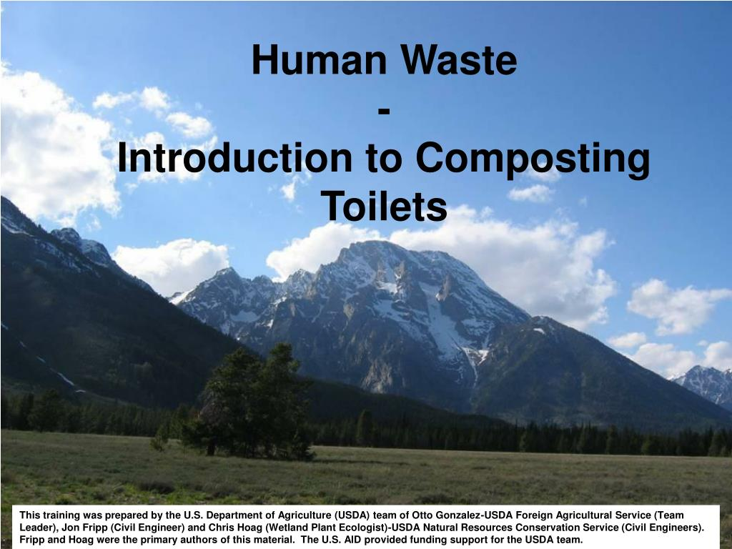 human waste introduction to composting toilets l.