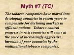 myth 7 tc