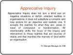 appreciative inquiry13