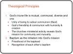 theological principles