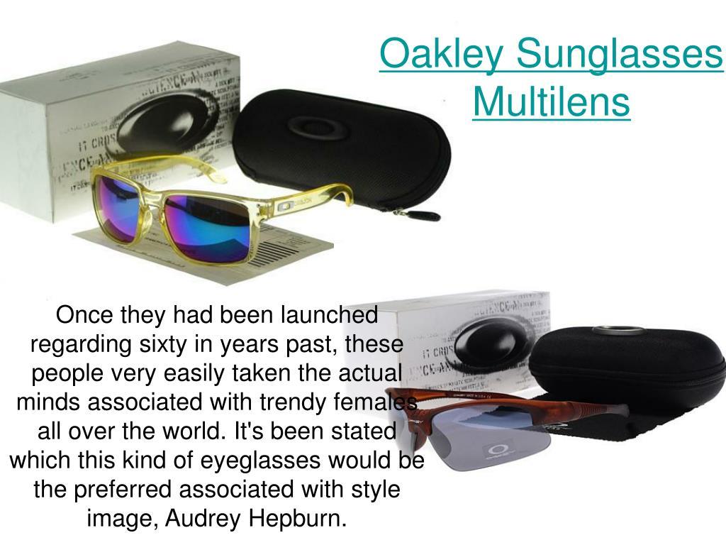 oakley sunglasses multilens l.