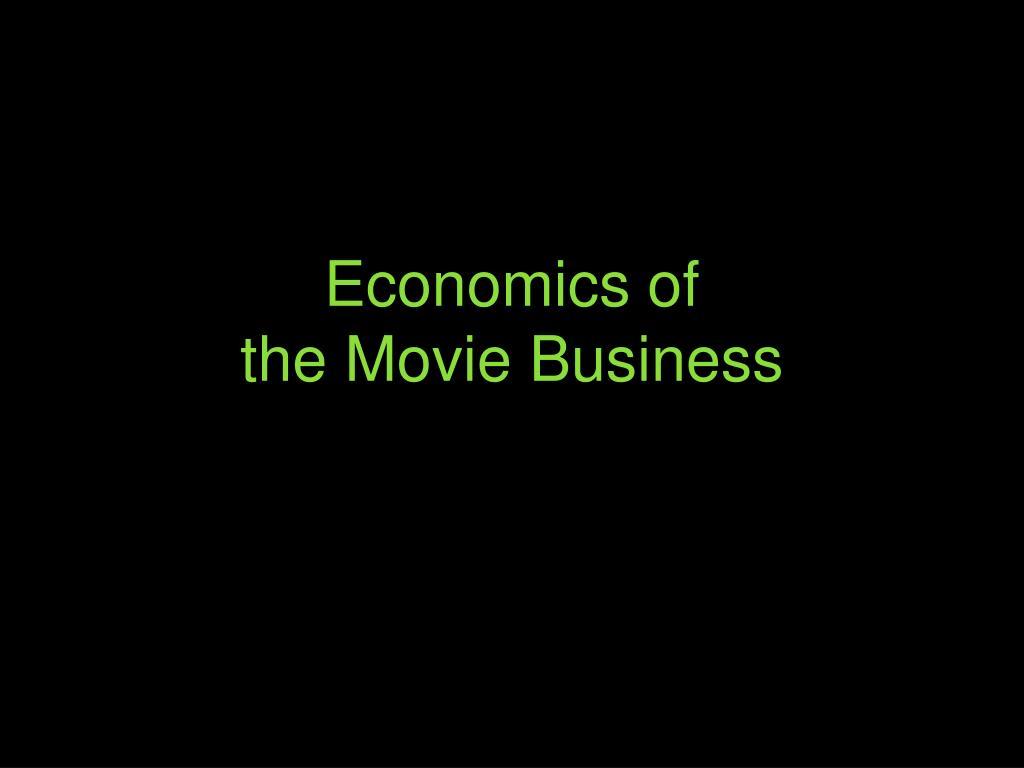 Economics of