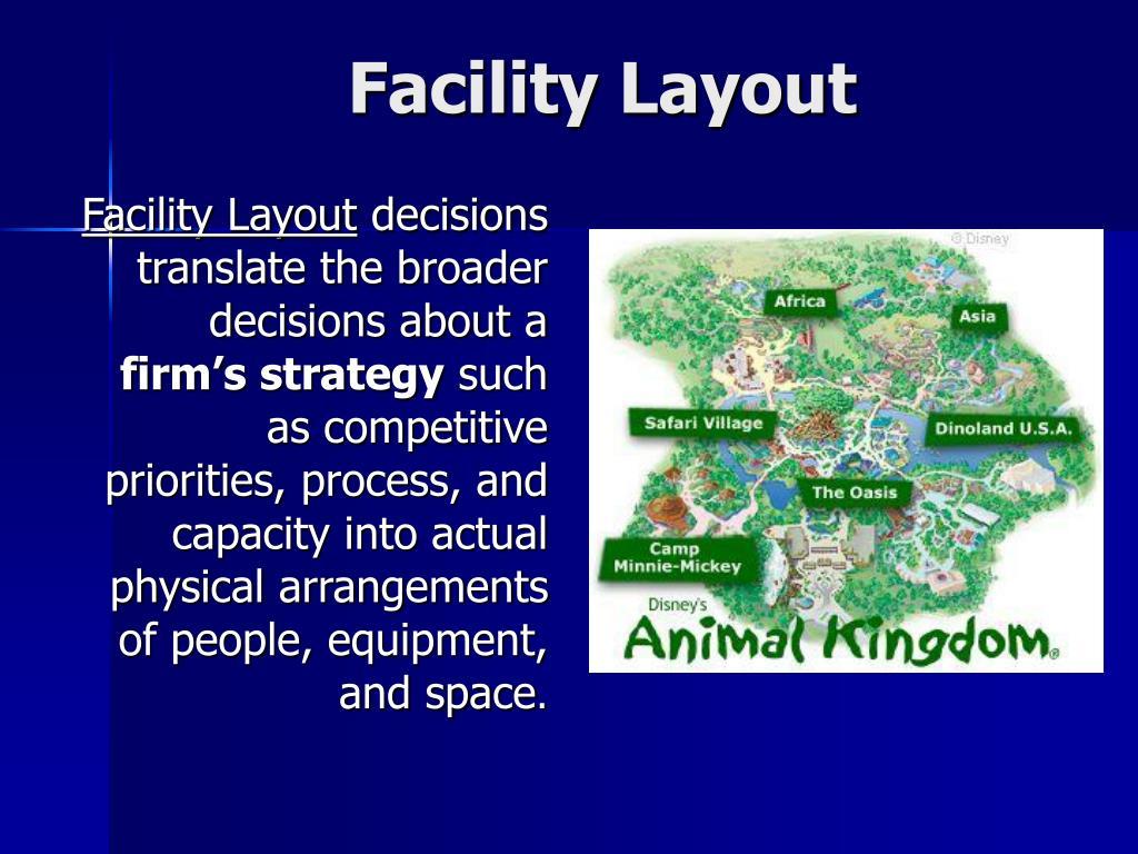 facility layout l.