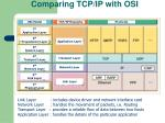 comparing tcp ip with osi