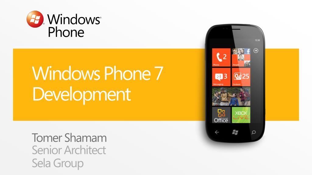 windows phone 7 development l.