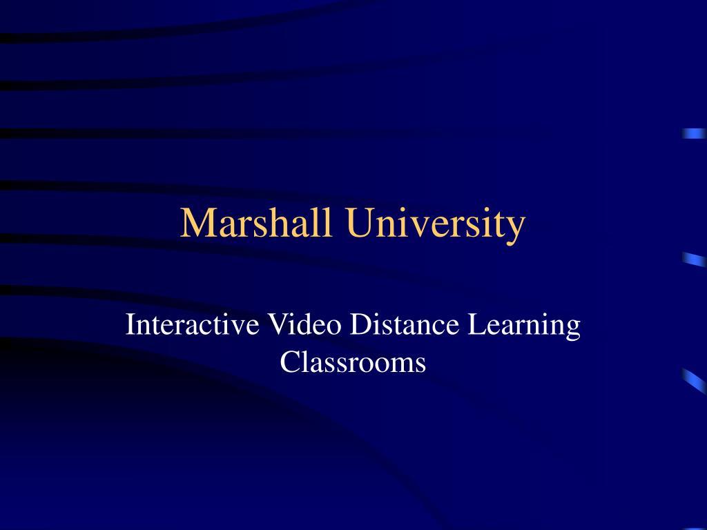 marshall university l.