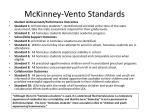 mckinney vento standards