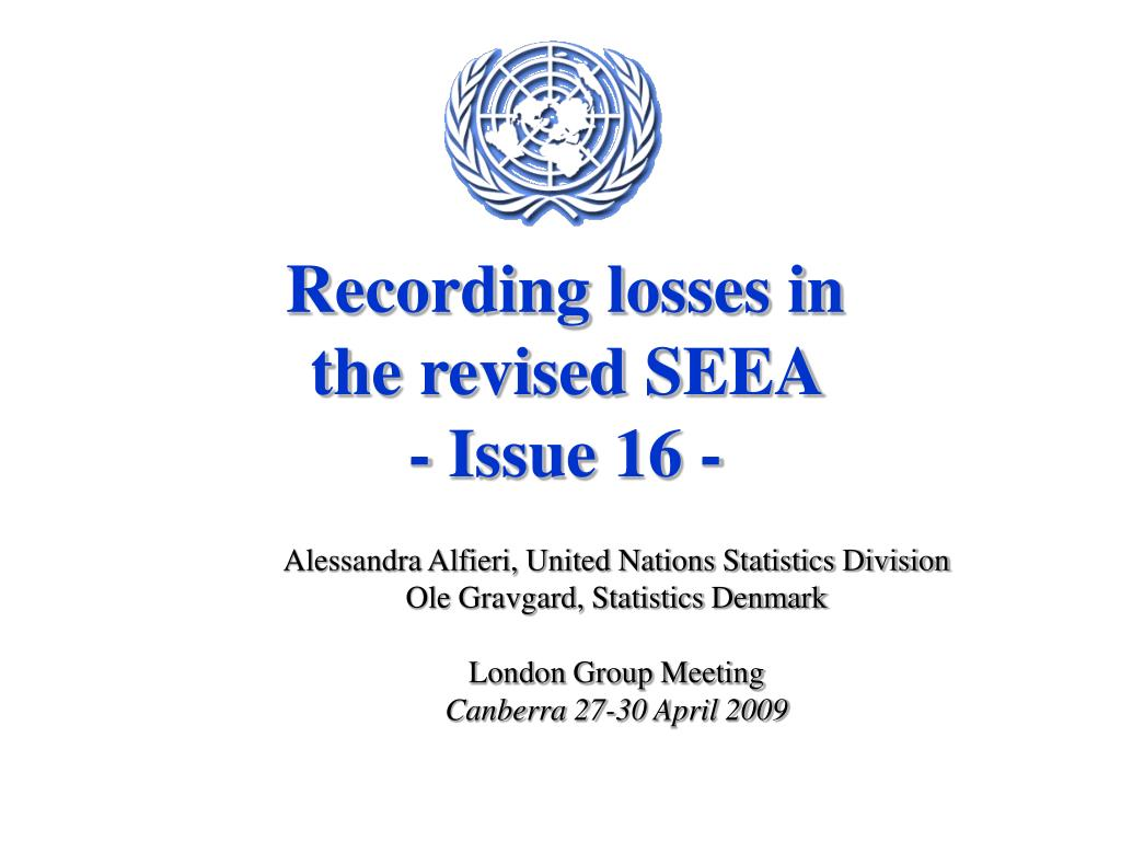 recording losses in the revised seea issue 16 l.