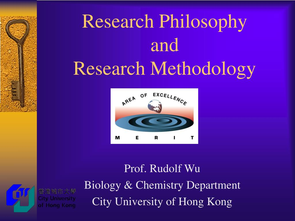 research philosophy and research methodology l.