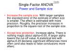 single factor anova power and sample size29