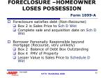 foreclosure homeowner loses possession form 1099 a