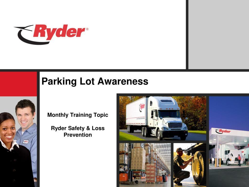 parking lot awareness l.
