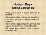 hudson bay arctic lowlands1