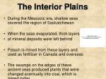 the interior plains1