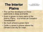 the interior plains4