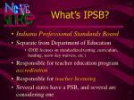what s ipsb