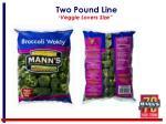 two pound line