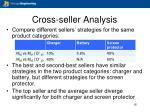 cross seller analysis