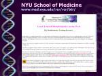 nyu school of medicine www med nyu edu rcr rcr btr