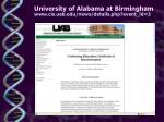 university of alabama at birmingham www cis uab edu news details php event id 3