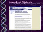 university of pittsburgh www hsls pitt edu about positions trainee html