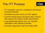 the itt process26