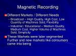 magnetic recording28