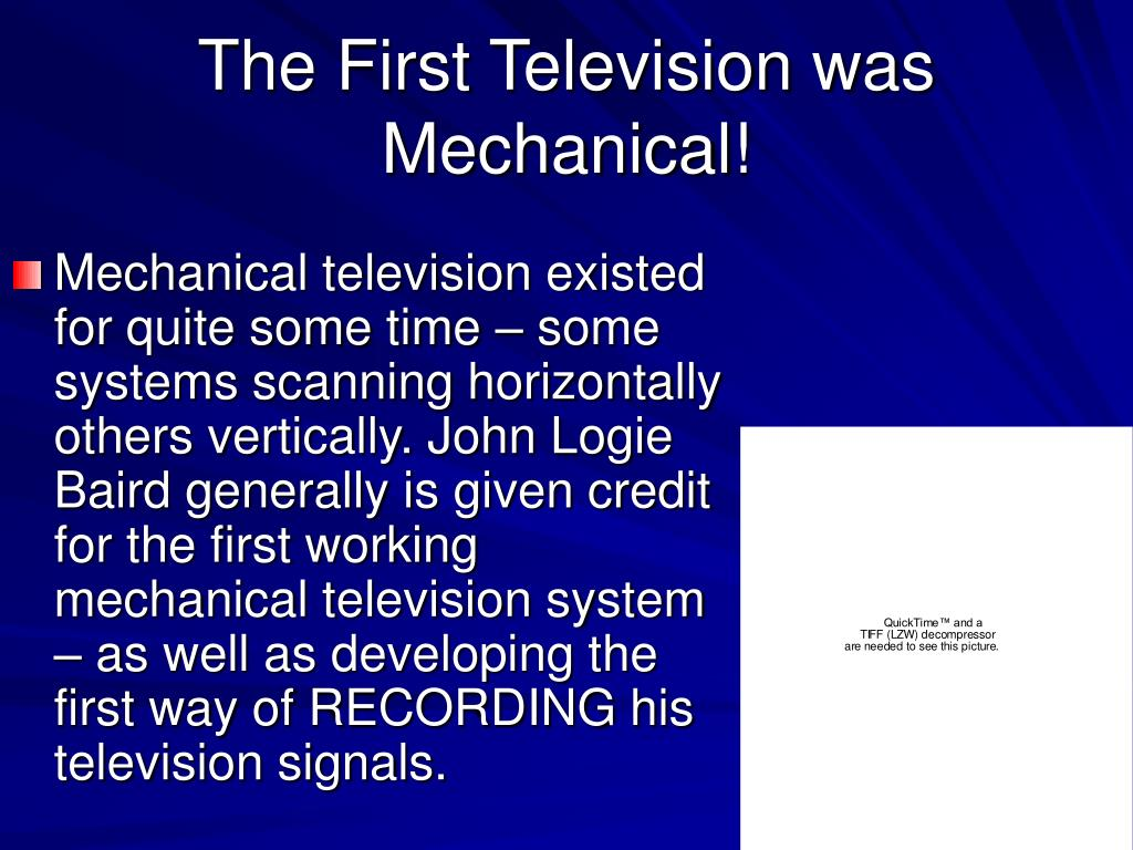 The First Television was Mechanical!