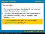 the verb leer