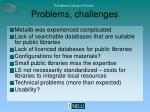 problems challenges