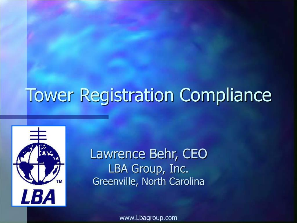 tower registration compliance l.