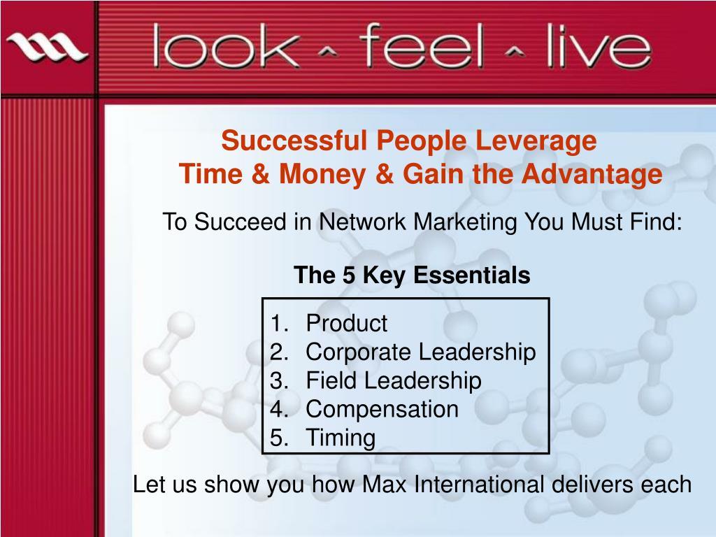 Successful People Leverage