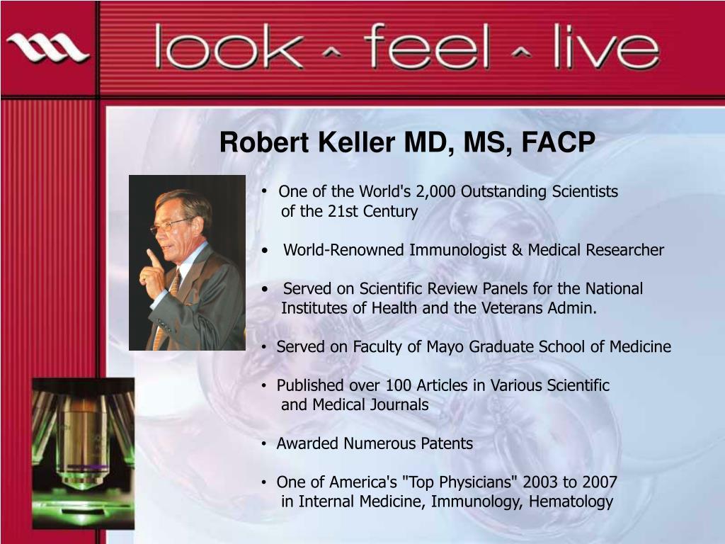 Robert Keller MD, MS, FACP