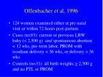 offenbacher et al 1996