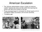 american escalation9