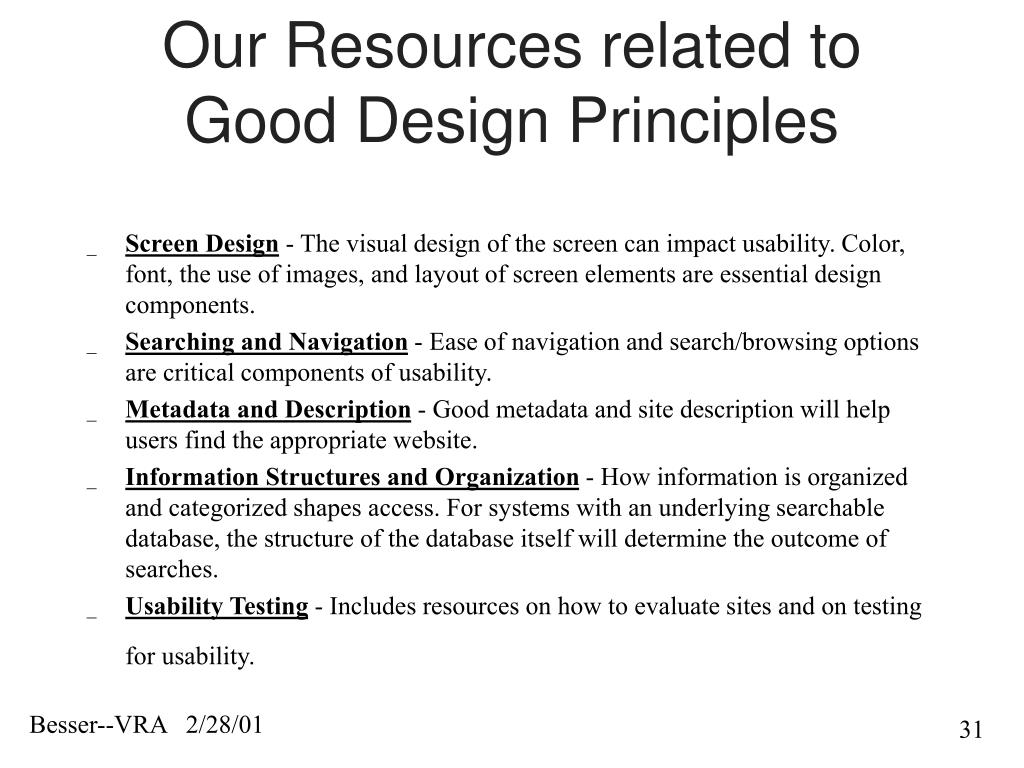 Our Resources related to