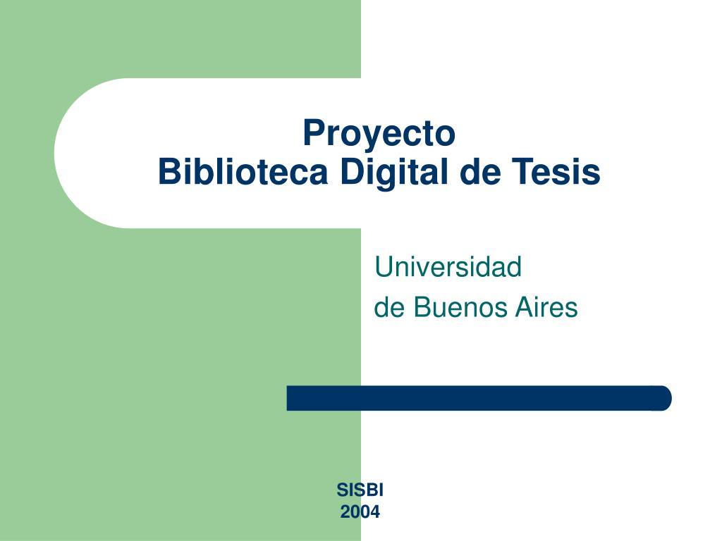 proyecto biblioteca digital de tesis l.