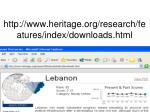 http www heritage org research features index downloads html