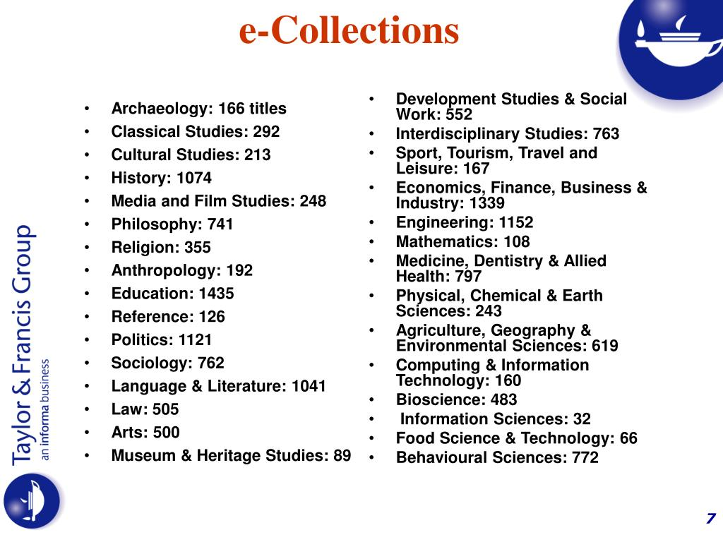 Archaeology: 166 titles