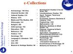 e collections