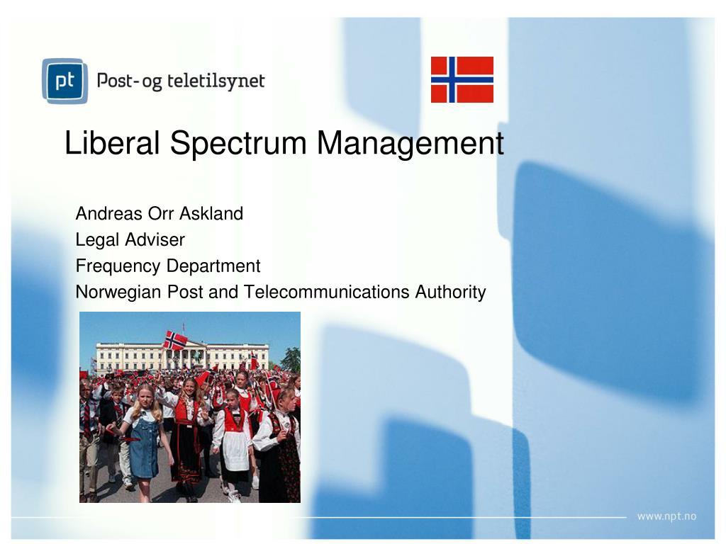 liberal spectrum management l.