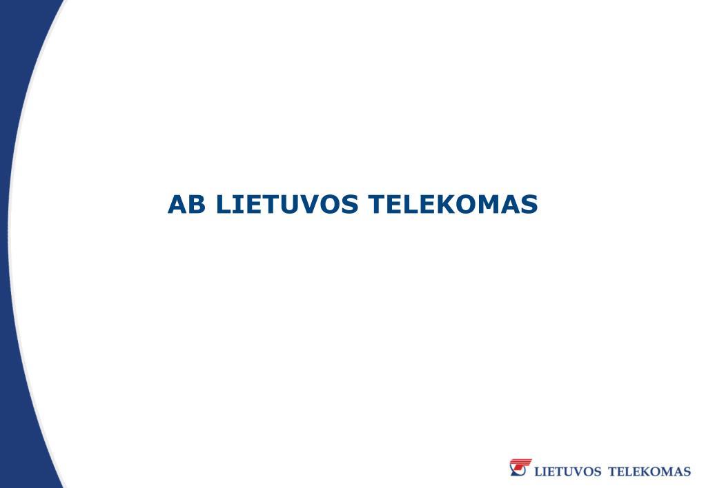 ab lietuvos telekomas l.