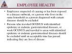 employee health102
