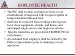 employee health103